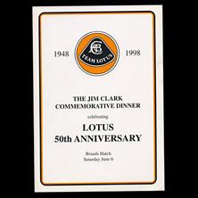 Brands Hatch, Lotus 50th Anniversary Dinner