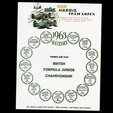 Ron Harris Team Lotus