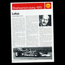 Shell Teams in Racing - Lotus