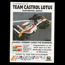 Team Castrol Lotus
