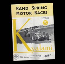 Kyalami Spring Motor Races