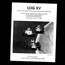 Pocono Raceway, LOG 15 (Lotus Owners Gathering)