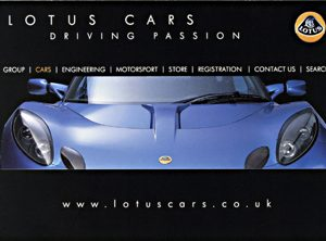 Lotus Cars Driving Passion