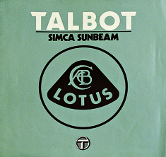 Talbot-Simca/Sunbeam Lotus