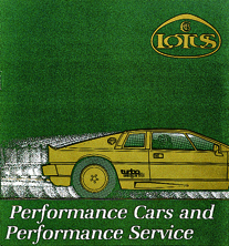 Lotus Cars & Performance Service