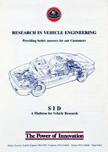 Lotus Vehicle Engineering SID