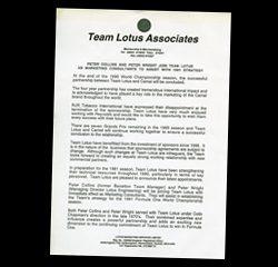 Team Lotus Associates
