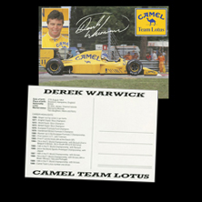 Camel Team Lotus - Warwick