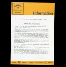 Camel Lotus Press Info Type 99T