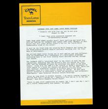 Camel Lotus Press Info Type 100T