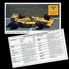 Camel Lotus Promo Card