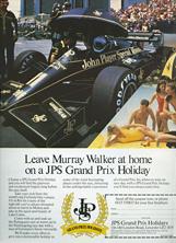 JPS Holidays - 1985