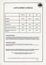 Esprit S4 Prices