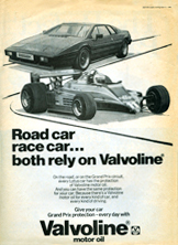 Valvoline Oil - 1980