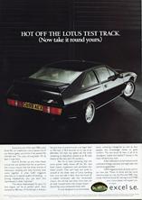 Lotus Cars Limited - 1986