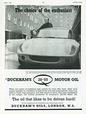 Duckhams Oil - 1966