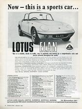 Lotus Car (Sales) Limited - 1966