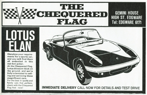 The Chequered Flag - 1965
