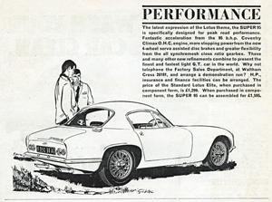 Lotus Components - 1963