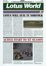 Lotus World, May 1987