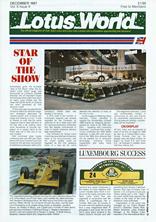 Lotus World, Dec 1987
