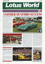 Lotus World, Aug 1988