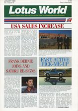 Lotus World, Jan 1989