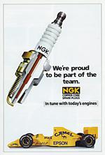 NGK Sparkplugs  - 1989