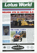 Lotus World, Aug 1989