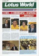 Lotus World, Oct 1989