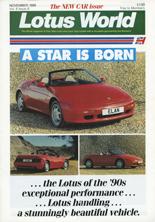 Lotus World, Nov 1989