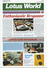 Lotus World, Feb 1990
