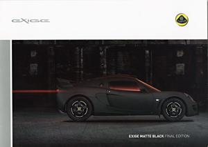 Exige Matte Black Final Edition