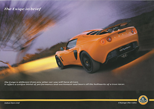 The Exige in Brief