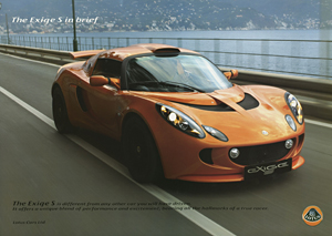 The Exige S in Brief