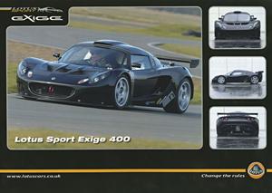 Lotus Sport Exige 400