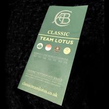 Classic Team Lotus Catalogue