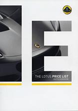 The Lotus Price List