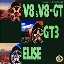 Colour & Trim Guide (V8, V8-GT, GT3, Elise)
