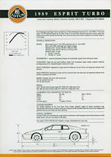 1989 Esprit Turbo