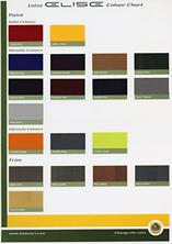 Lotus Elise Colour Chart