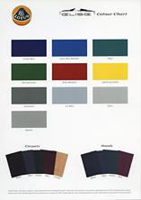 Elise Colour Chart
