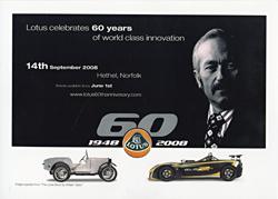Lotus Celebrates 60 Years