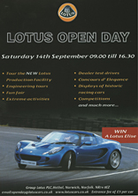 Lotus Open Day
