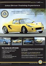 Lotus Driver Training Experience