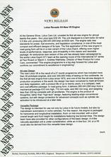 News Release - Lotus Reveals All-New V8 Engine
