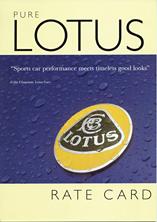 Pure Lotus Rate Card