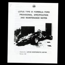 Lotus Components Type 61 Spec